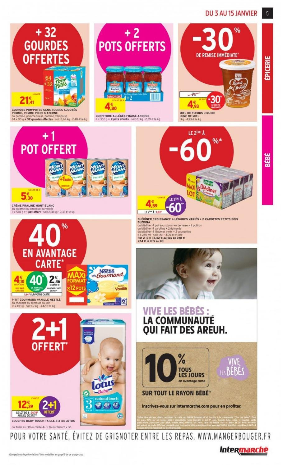 Catalogue Intermarché - 03.01.2019 - 15.01.2019. Page 5.