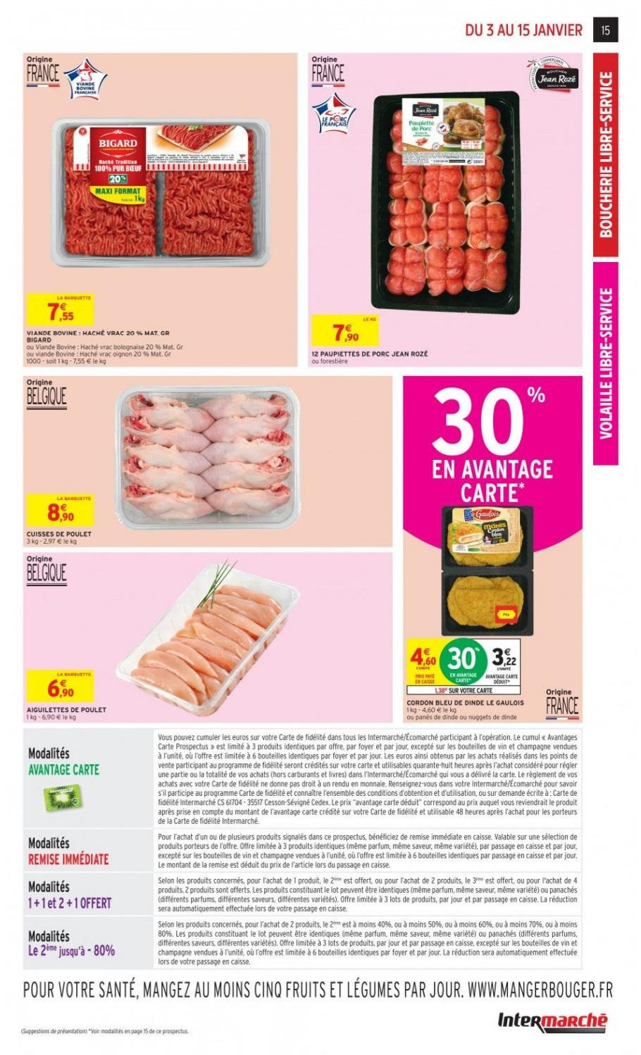 Catalogue Intermarché - 03.01.2019 - 15.01.2019. Page 15.
