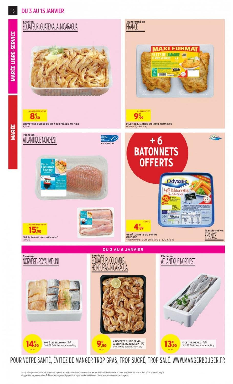 Catalogue Intermarché - 03.01.2019 - 15.01.2019. Page 16.