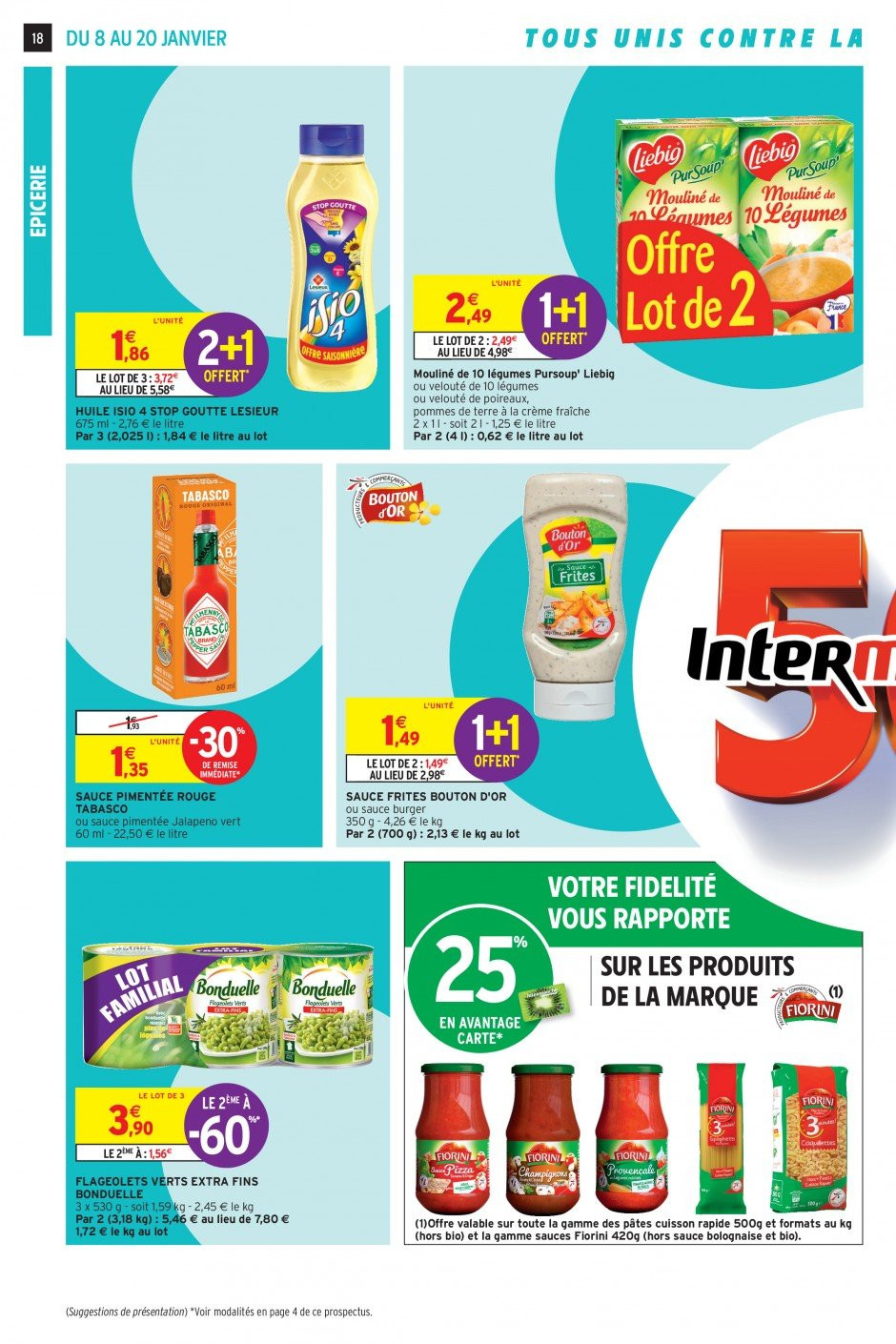 Catalogue Intermarché - 08.01.2019 - 20.01.2019. Page 18.
