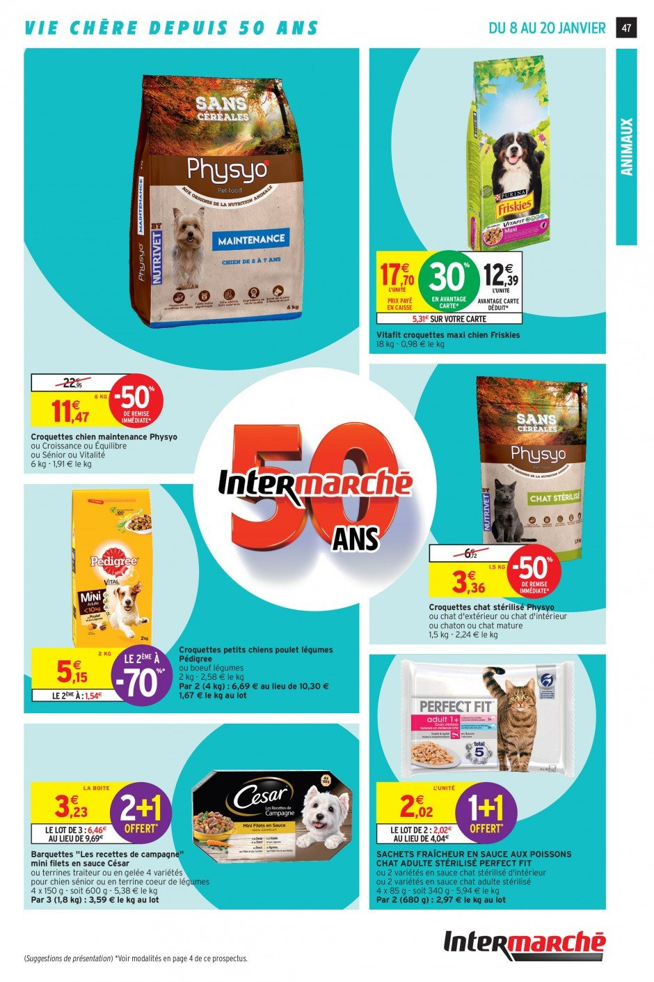 Catalogue Intermarché - 08.01.2019 - 20.01.2019. Page 44.