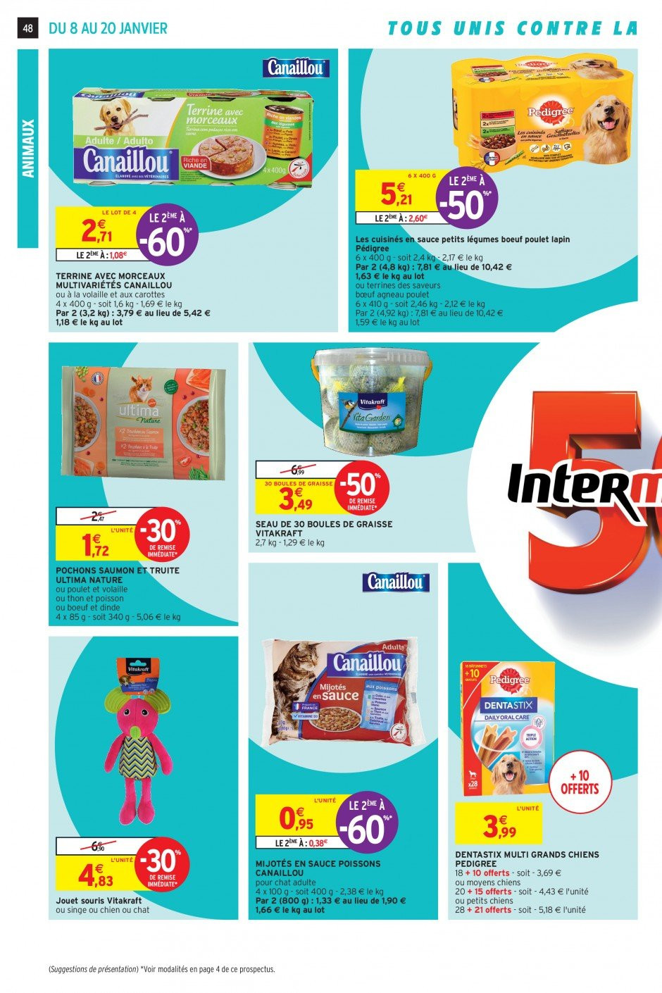 Catalogue Intermarché - 08.01.2019 - 20.01.2019. Page 45.