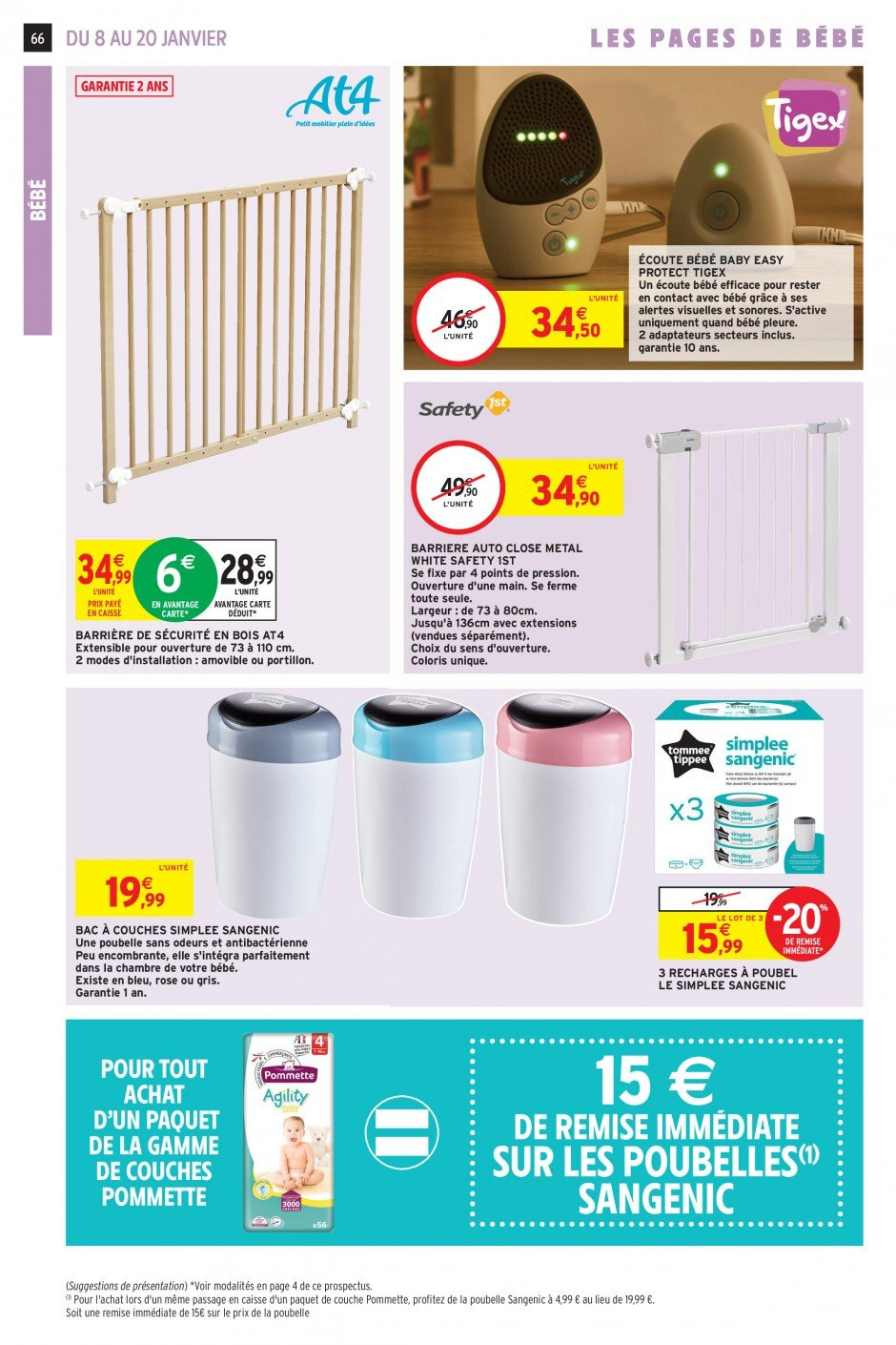 Catalogue Intermarché - 08.01.2019 - 20.01.2019. Page 63.