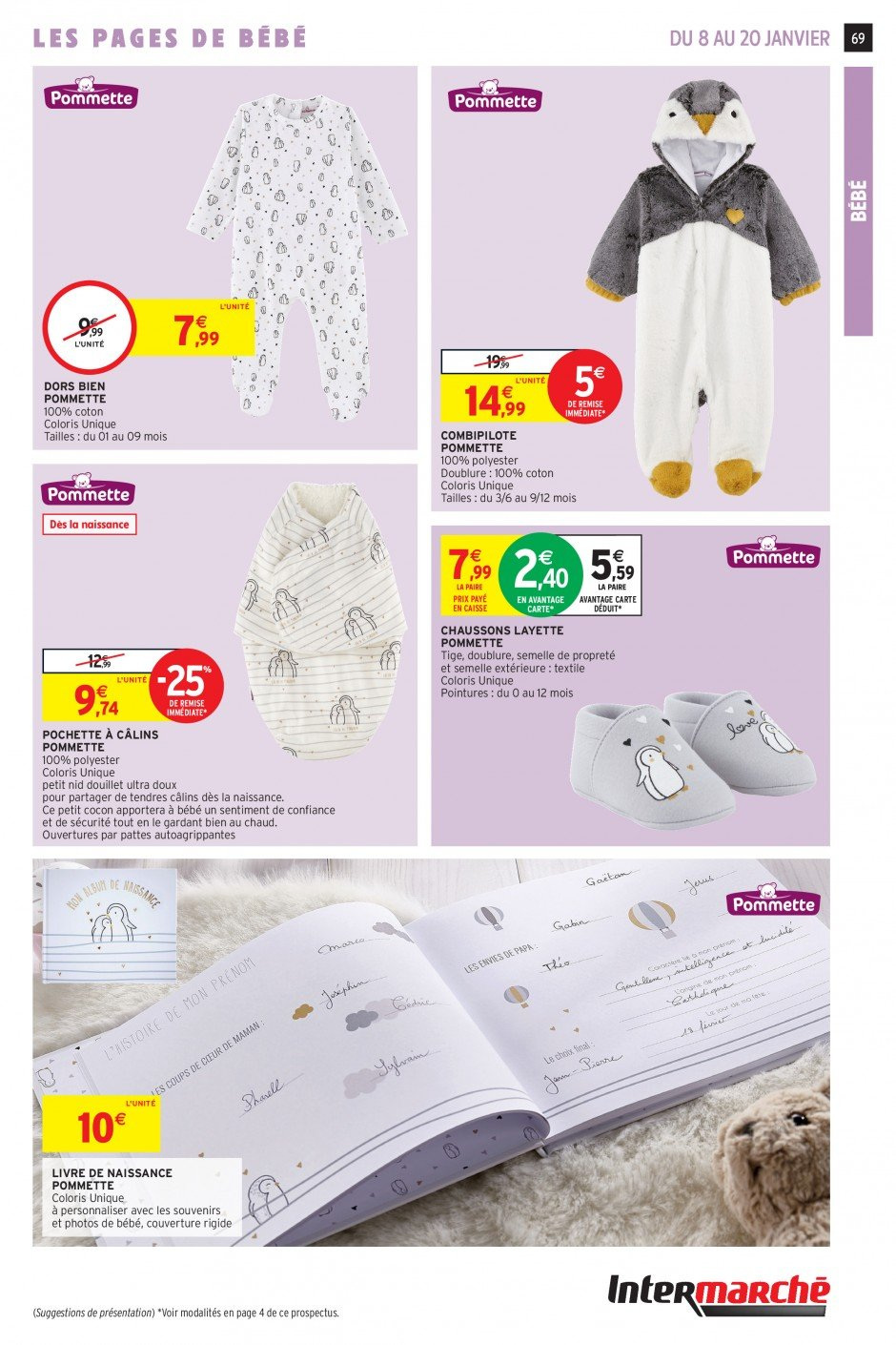 Catalogue Intermarché - 08.01.2019 - 20.01.2019. Page 66.