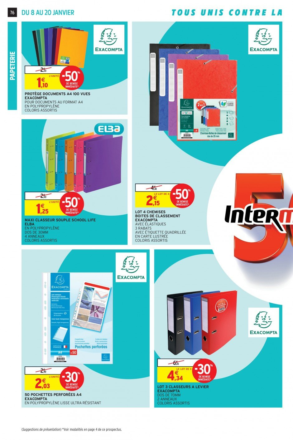 Catalogue Intermarché - 08.01.2019 - 20.01.2019. Page 73.