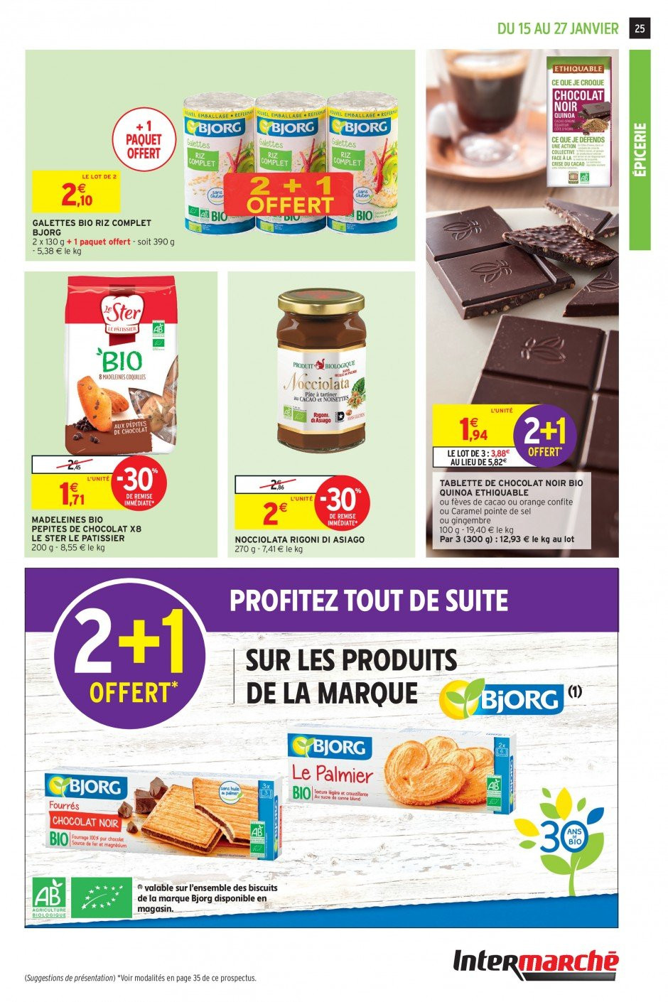 Catalogue Intermarché - 15.01.2019 - 27.01.2019. Page 25.