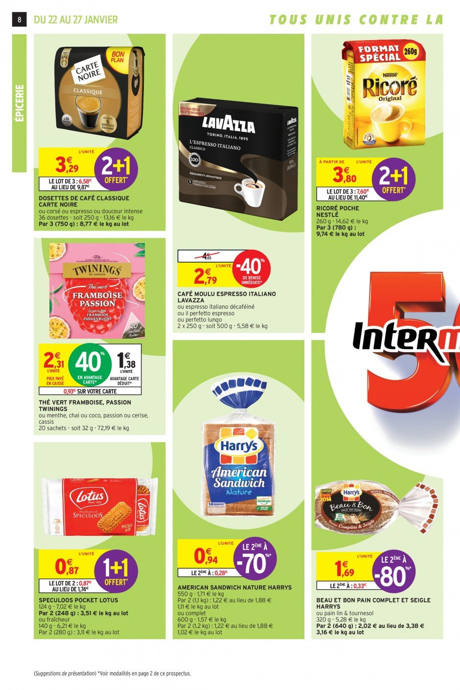 Catalogue Intermarché - 22.01.2019 - 27.01.2019. Page 8.