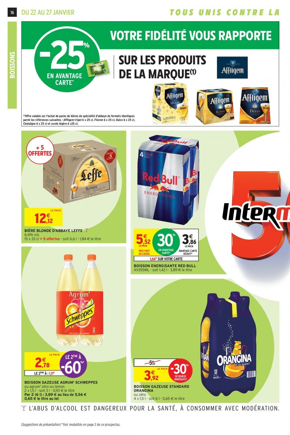 Catalogue Intermarché - 22.01.2019 - 27.01.2019. Page 16.