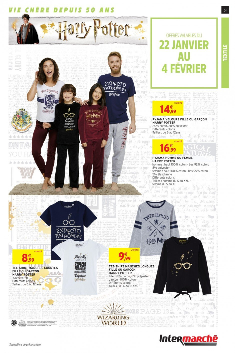 Catalogue Intermarché - 22.01.2019 - 27.01.2019. Page 59.