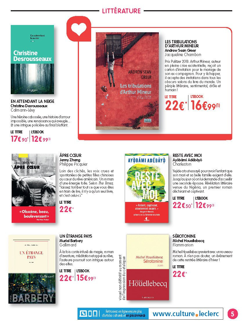 Catalogue E.Leclerc - 22.01.2019 - 09.02.2019. Page 5.