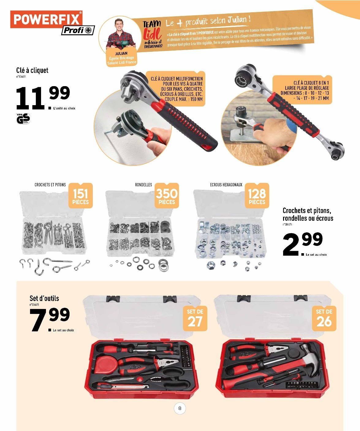 Catalogue Lidl - 31.01.2019 - 14.02.2019. Page 8.