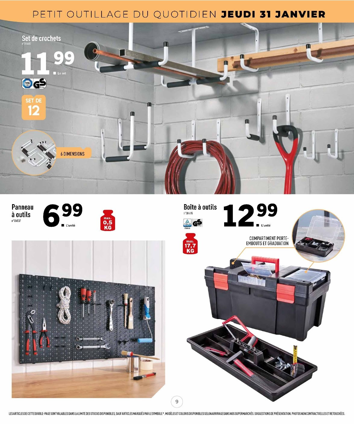 Catalogue Lidl - 31.01.2019 - 14.02.2019. Page 9.