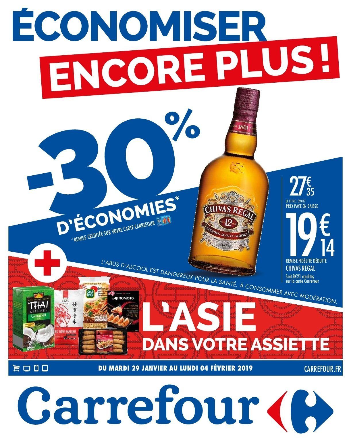 Catalogue Carrefour - 29.01.2019 - 04.02.2019. Page 1.