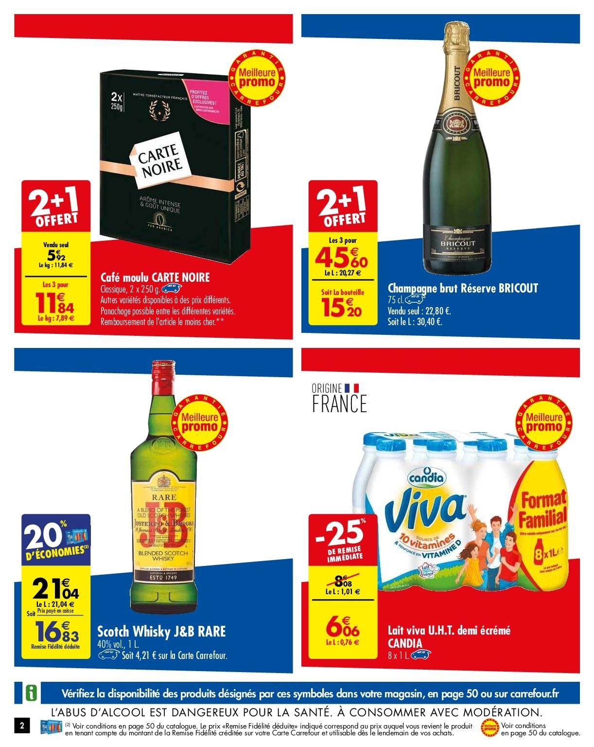 Catalogue Carrefour - 29.01.2019 - 04.02.2019. Page 2.