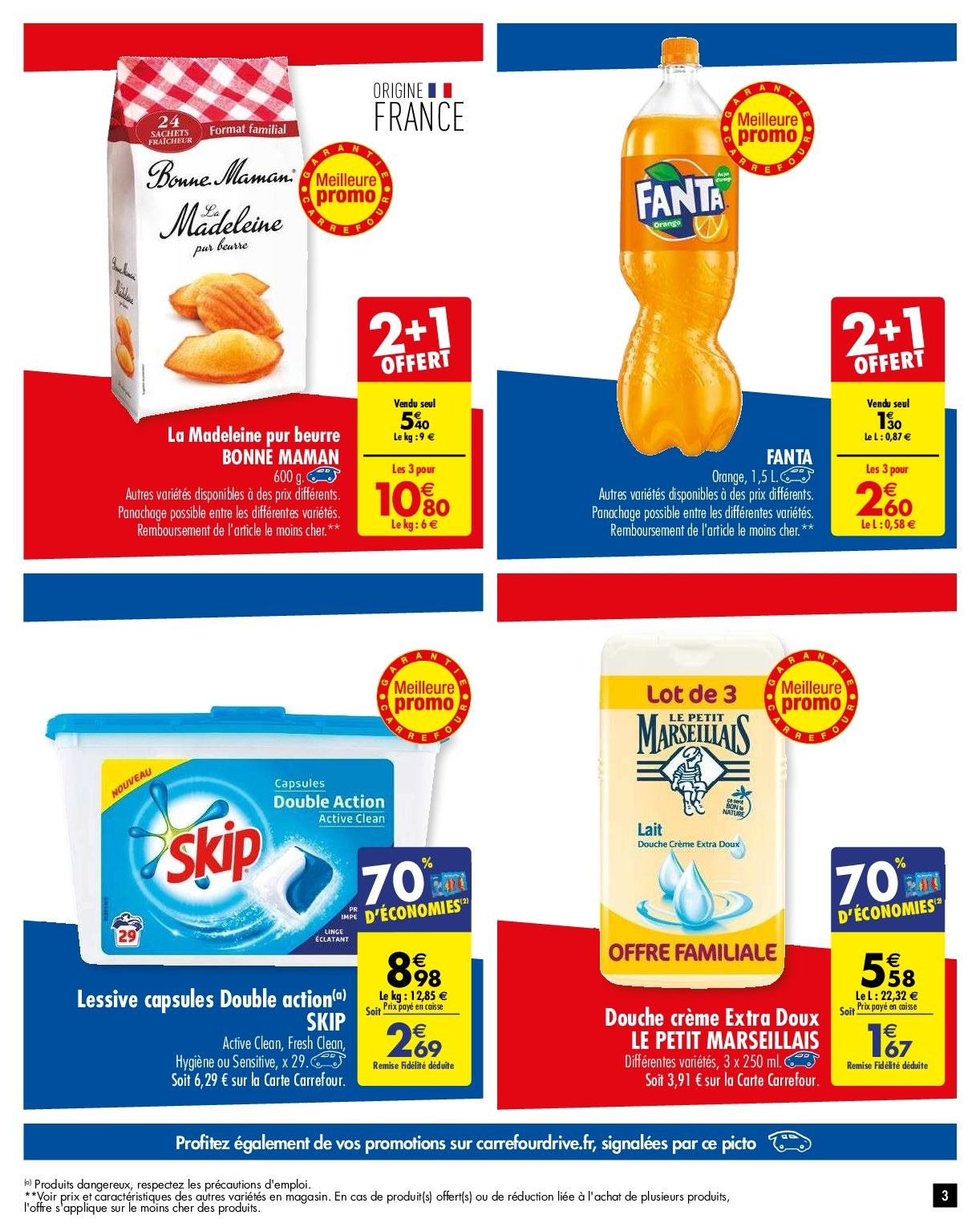 Catalogue Carrefour - 29.01.2019 - 04.02.2019. Page 3.