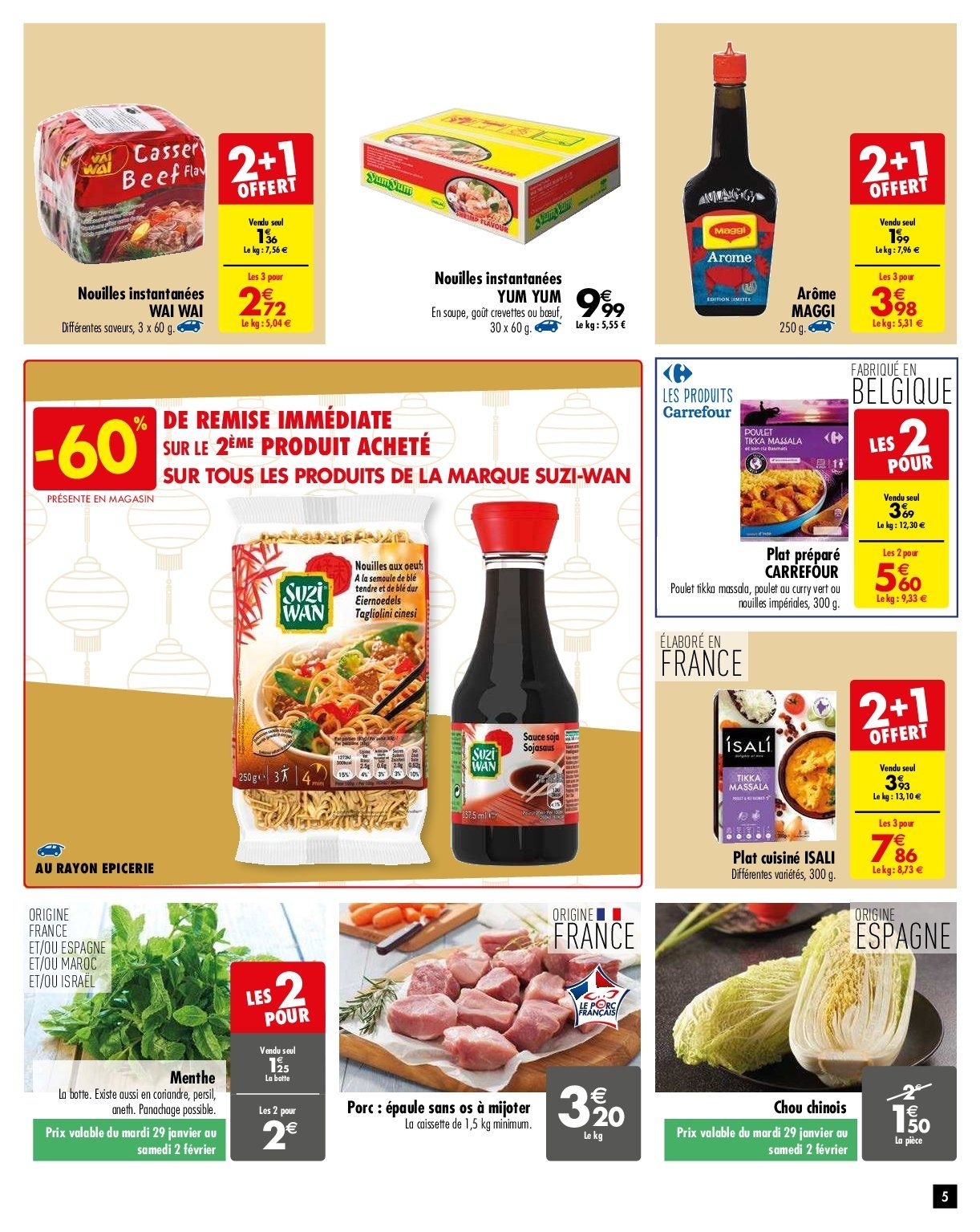 Catalogue Carrefour - 29.01.2019 - 04.02.2019. Page 5.