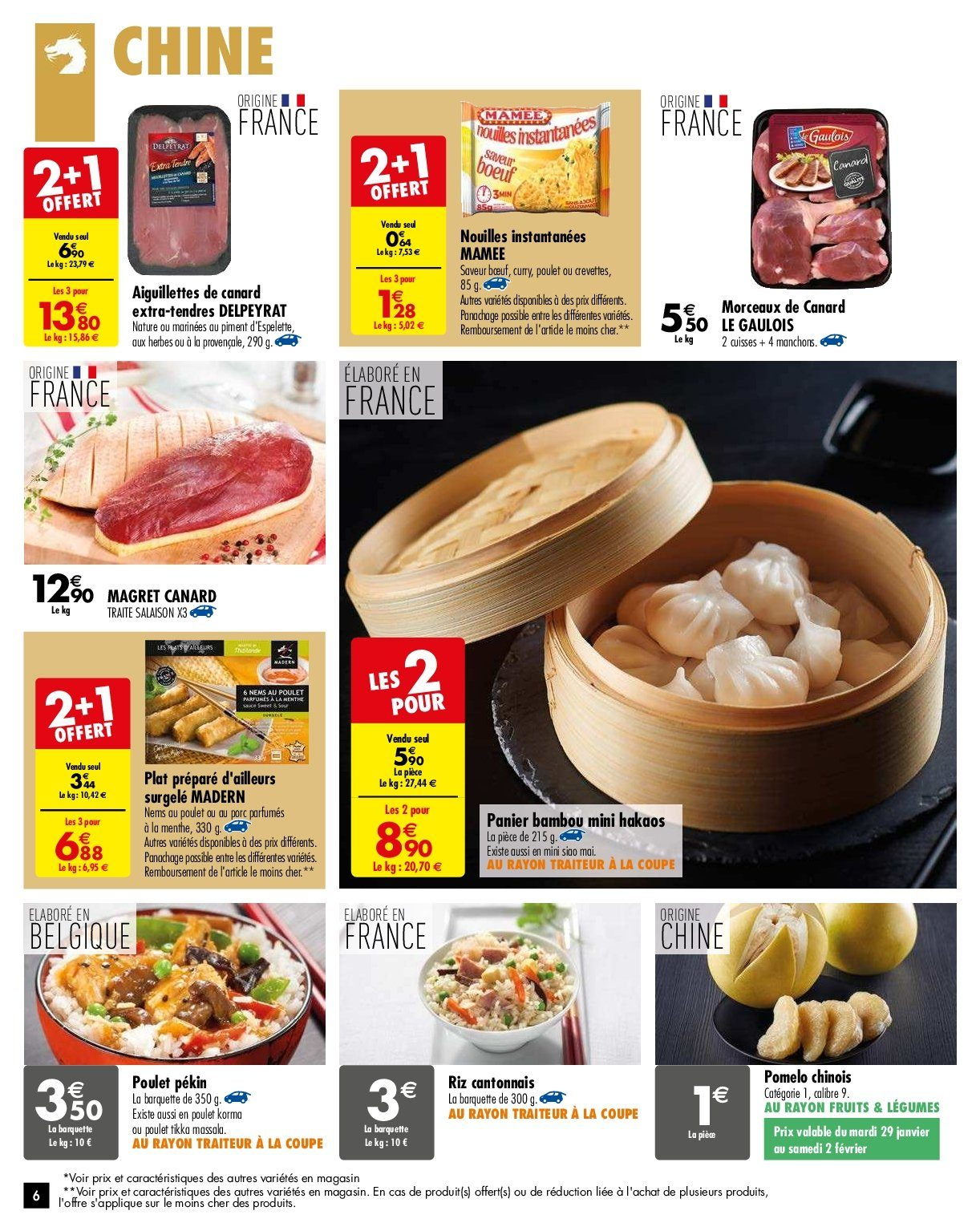 Catalogue Carrefour - 29.01.2019 - 04.02.2019. Page 6.
