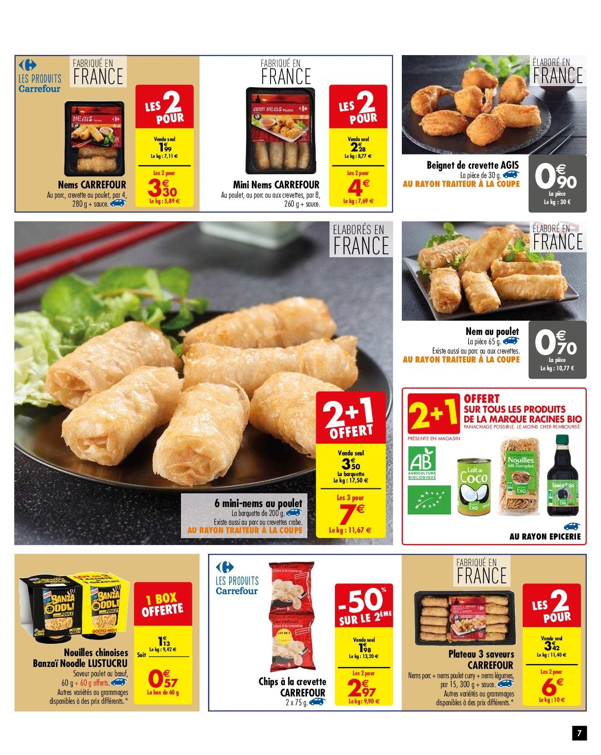 Catalogue Carrefour - 29.01.2019 - 04.02.2019. Page 7.
