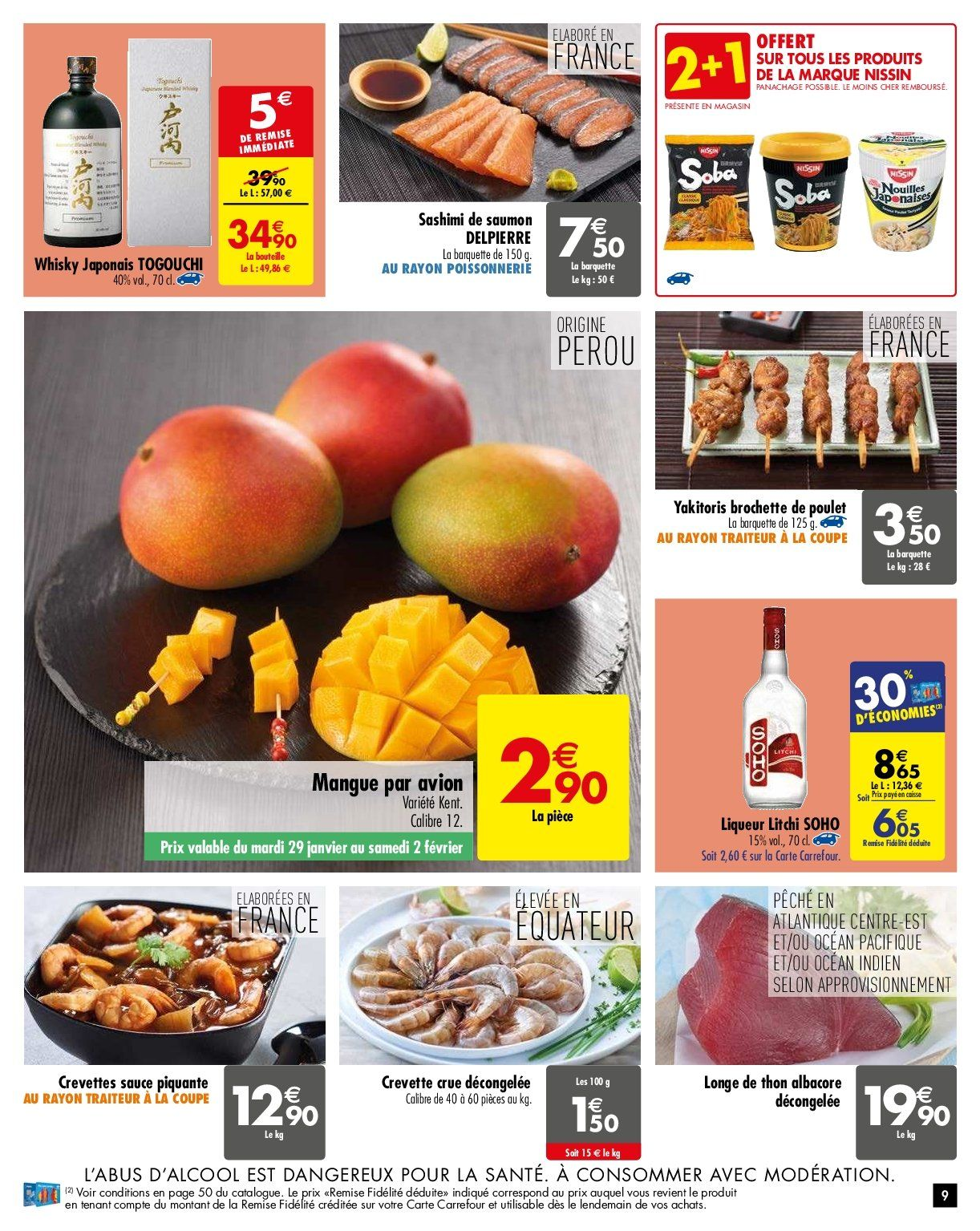 Catalogue Carrefour - 29.01.2019 - 04.02.2019. Page 9.