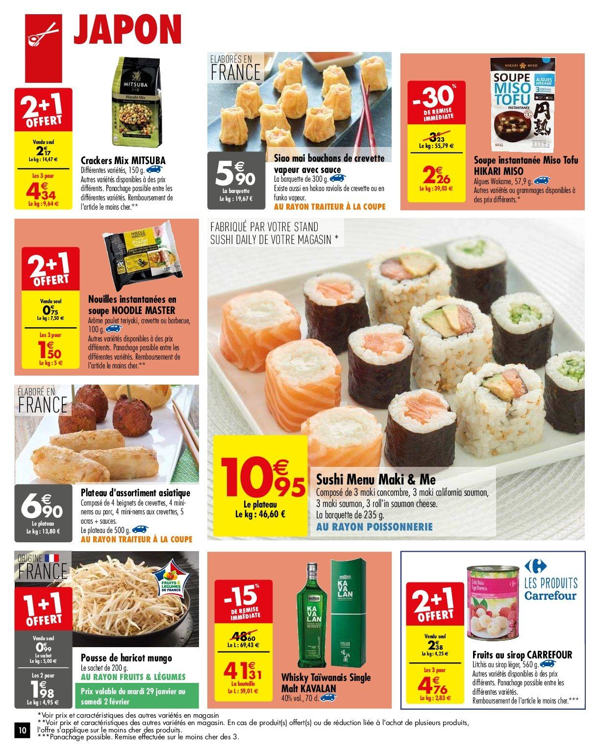 Catalogue Carrefour - 29.01.2019 - 04.02.2019. Page 10.