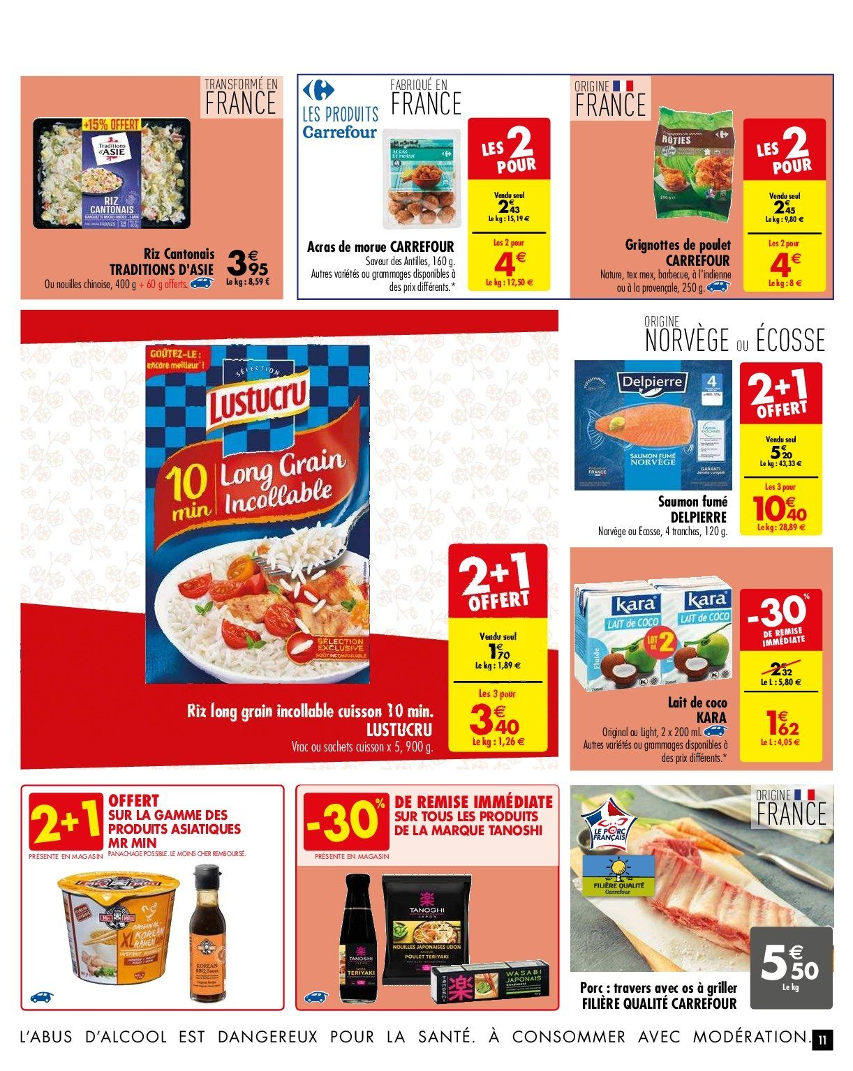 Catalogue Carrefour - 29.01.2019 - 04.02.2019. Page 11.