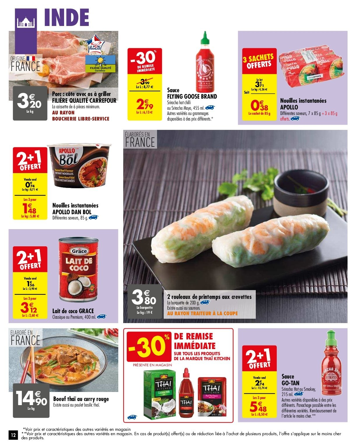 Catalogue Carrefour - 29.01.2019 - 04.02.2019. Page 12.