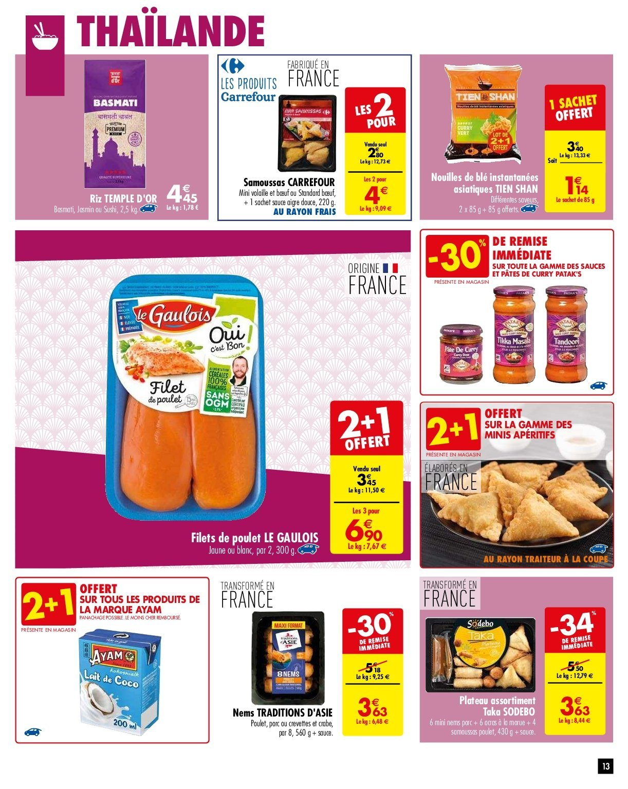 Catalogue Carrefour - 29.01.2019 - 04.02.2019. Page 13.