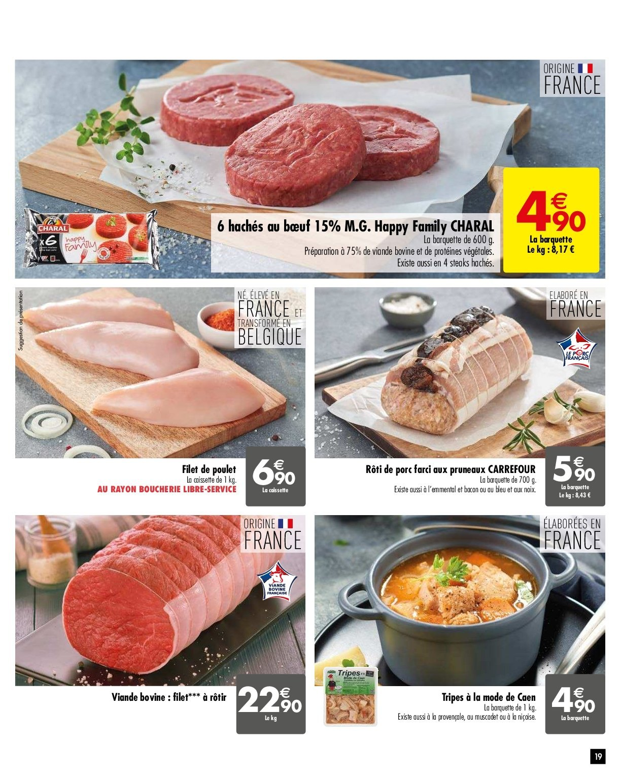 Catalogue Carrefour - 29.01.2019 - 04.02.2019. Page 19.