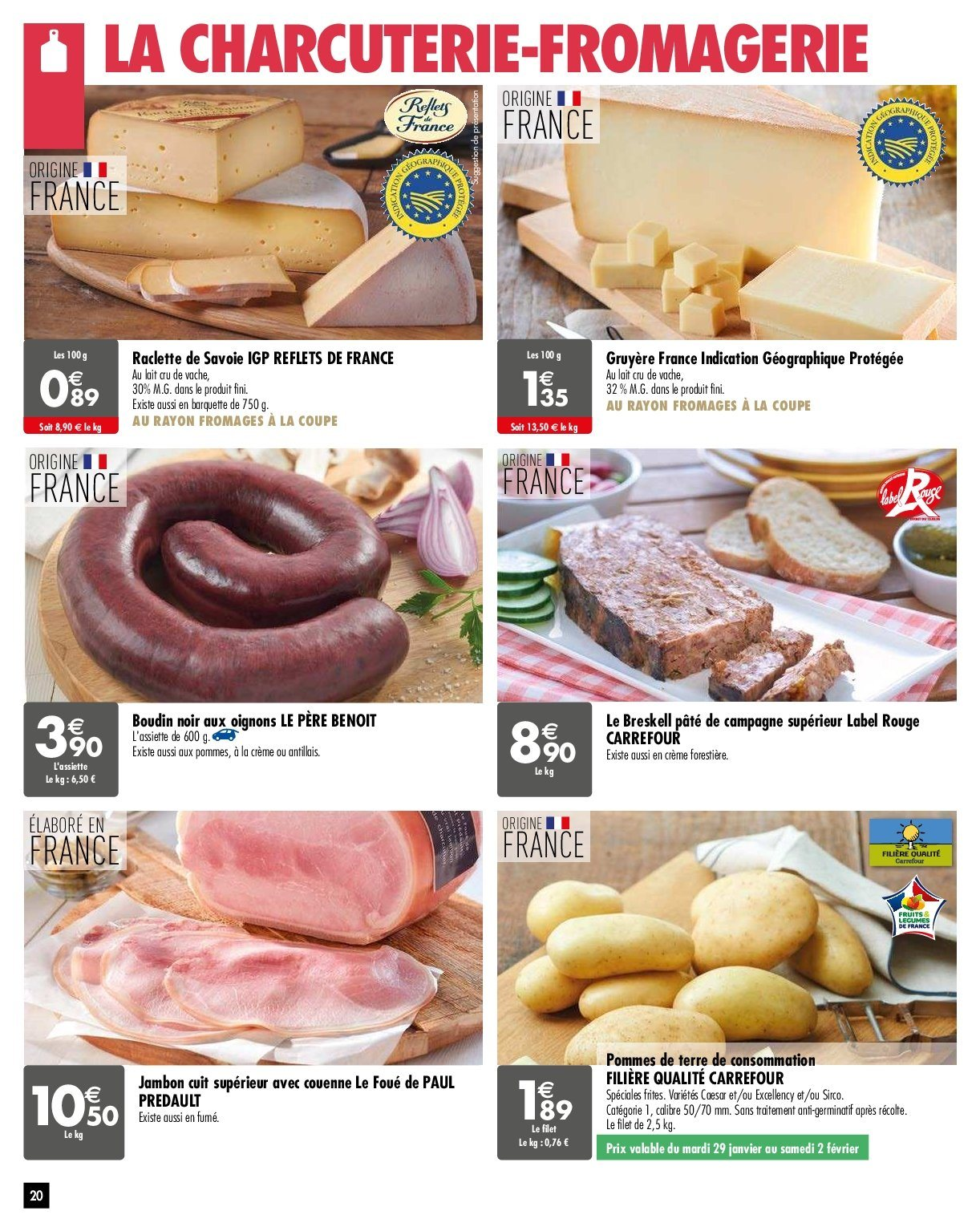 Catalogue Carrefour - 29.01.2019 - 04.02.2019. Page 20.