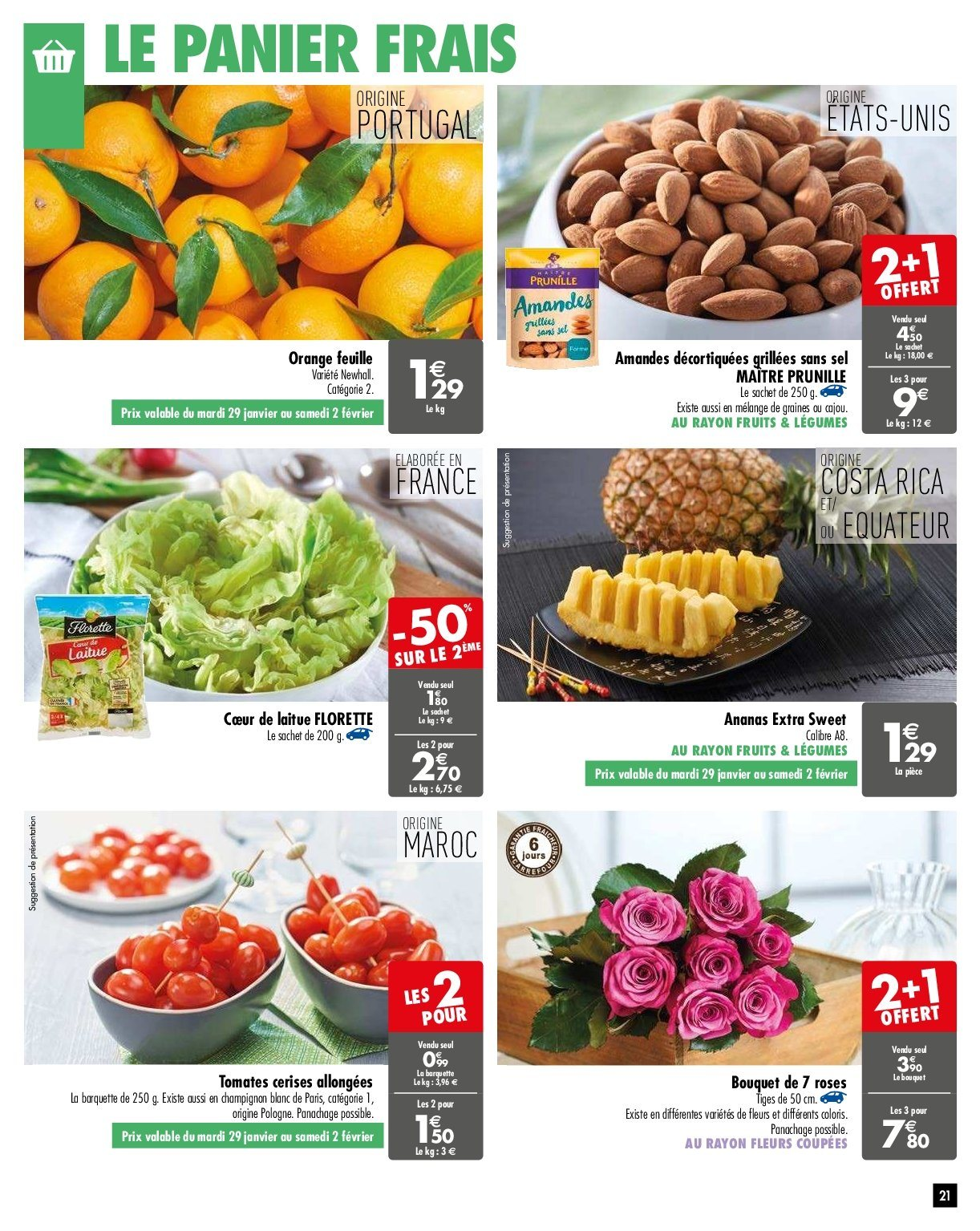 Catalogue Carrefour - 29.01.2019 - 04.02.2019. Page 21.
