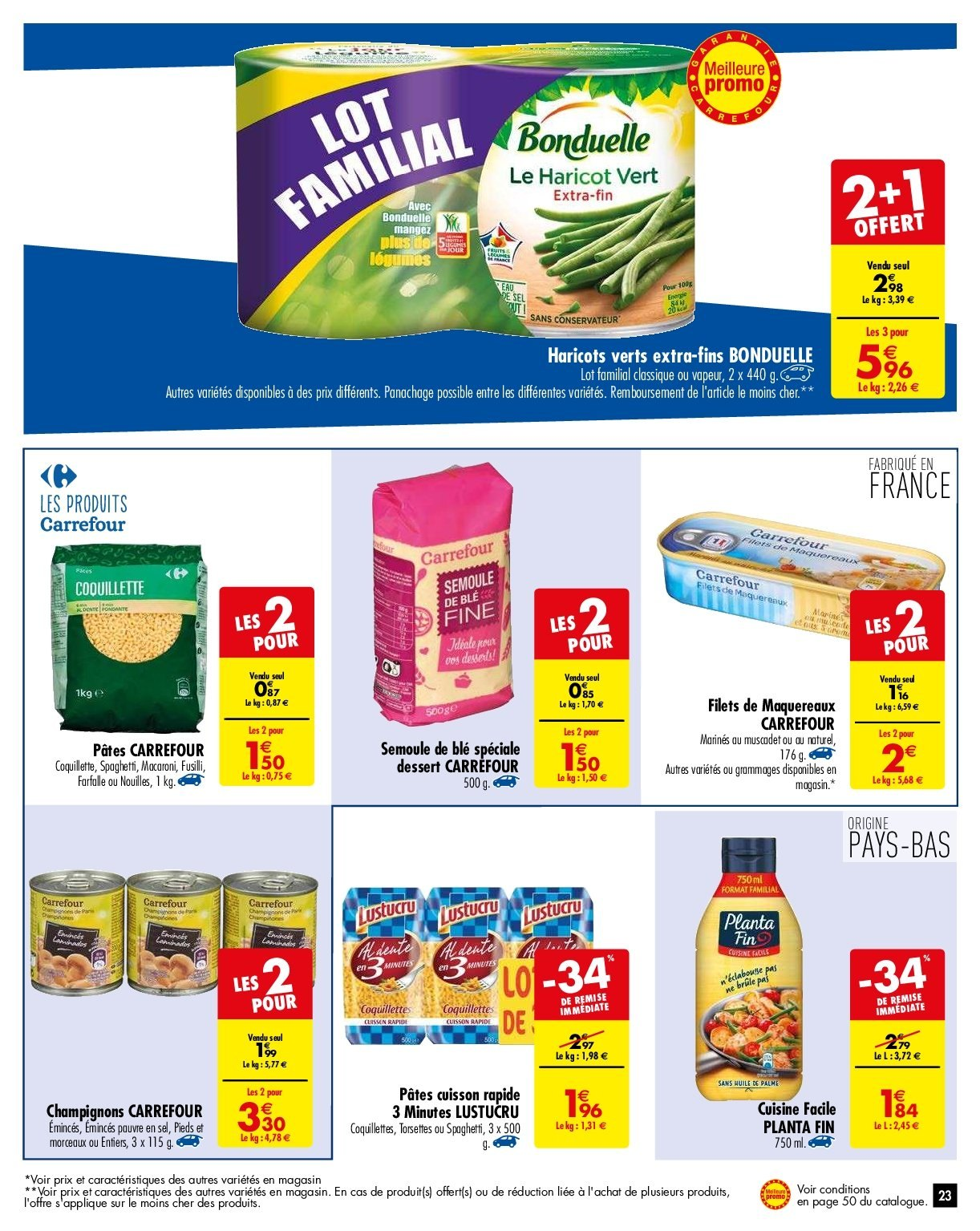 Catalogue Carrefour - 29.01.2019 - 04.02.2019. Page 23.