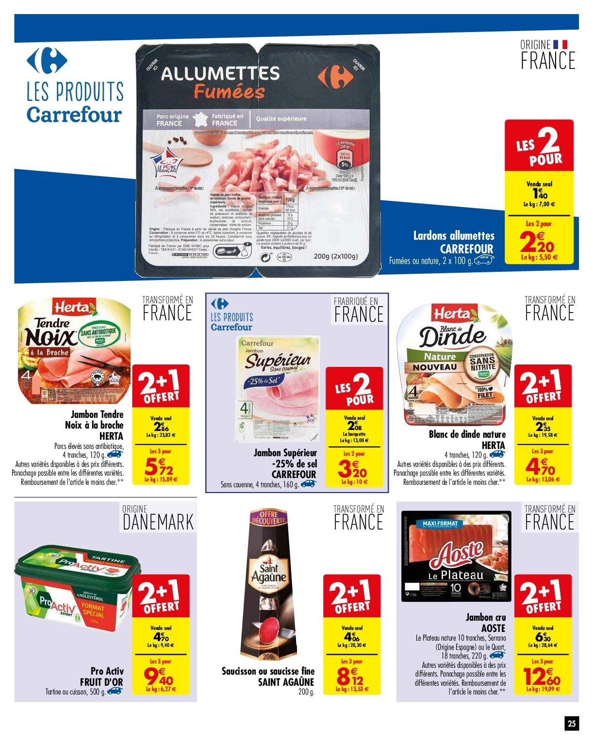 Catalogue Carrefour - 29.01.2019 - 04.02.2019. Page 25.