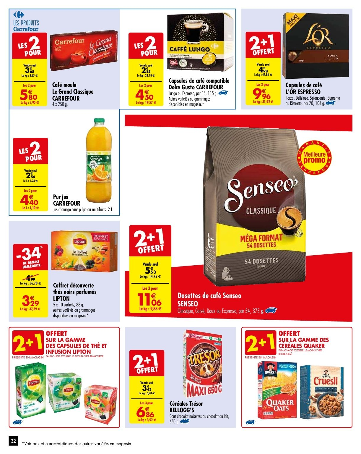 Catalogue Carrefour - 29.01.2019 - 04.02.2019. Page 32.