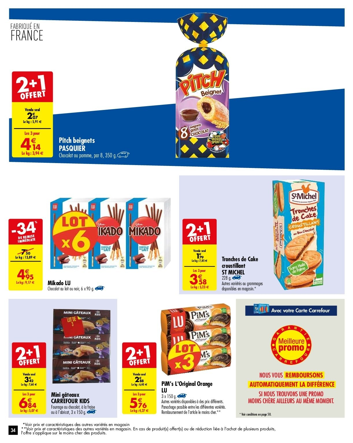 Catalogue Carrefour - 29.01.2019 - 04.02.2019. Page 34.