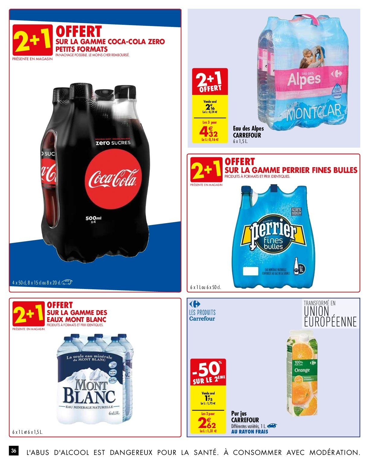 Catalogue Carrefour - 29.01.2019 - 04.02.2019. Page 36.