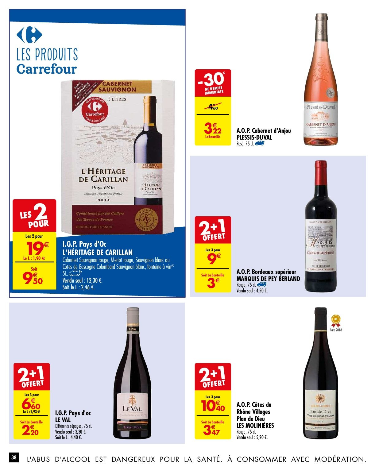 Catalogue Carrefour - 29.01.2019 - 04.02.2019. Page 38.