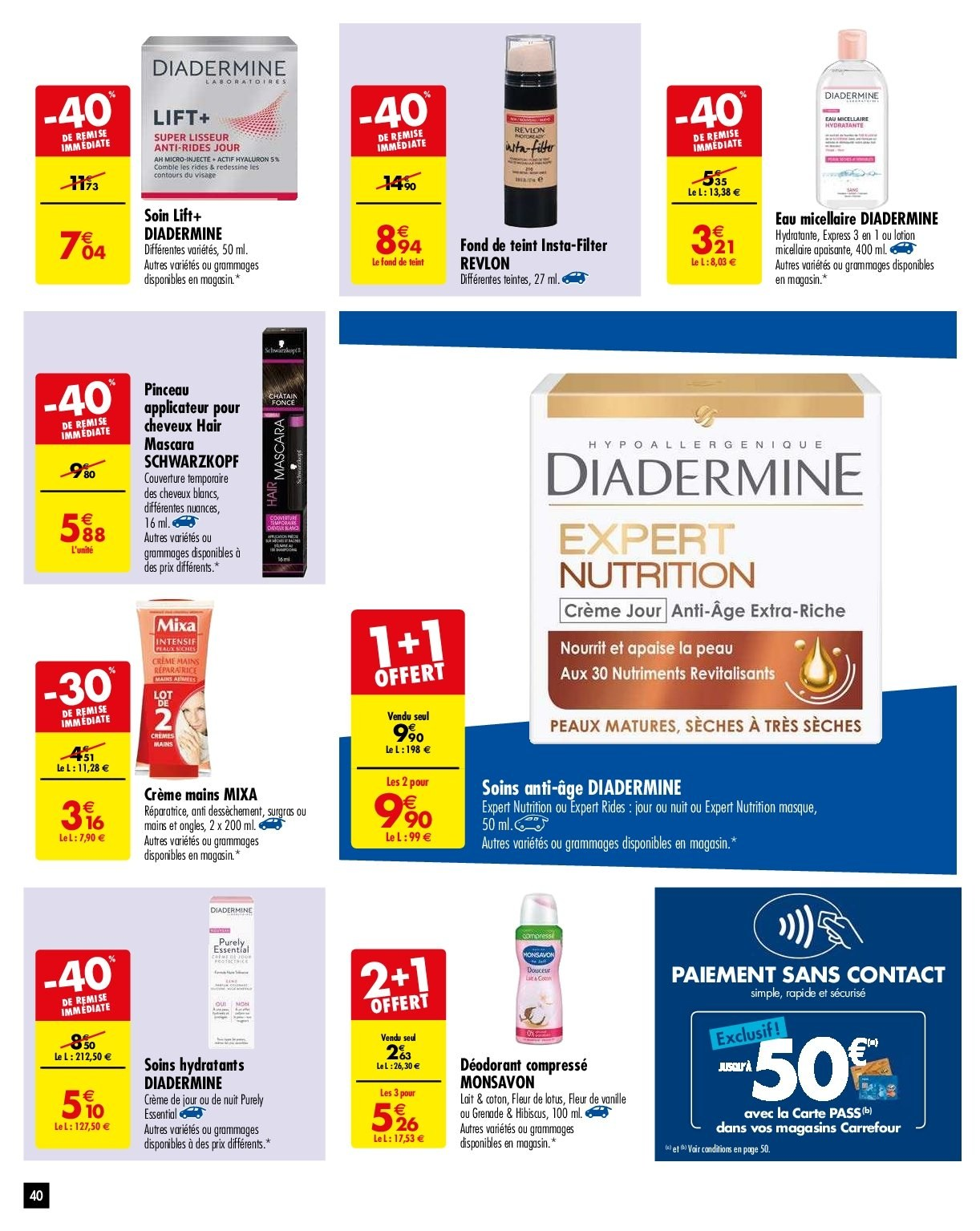 Catalogue Carrefour - 29.01.2019 - 04.02.2019. Page 40.