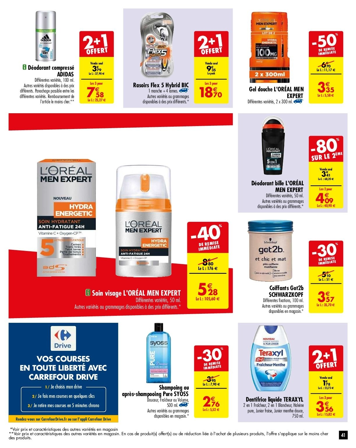 Catalogue Carrefour - 29.01.2019 - 04.02.2019. Page 41.