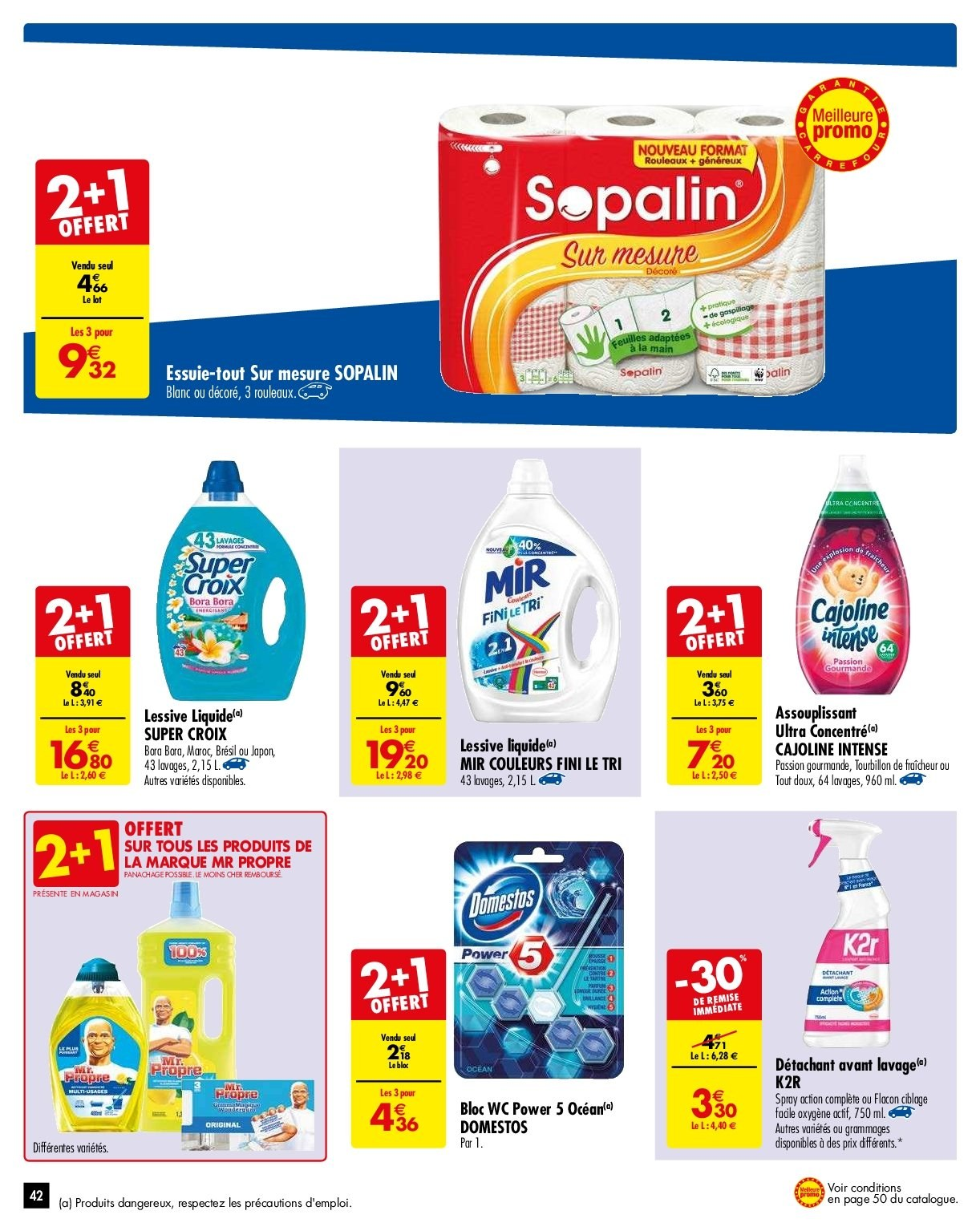 Catalogue Carrefour - 29.01.2019 - 04.02.2019. Page 42.
