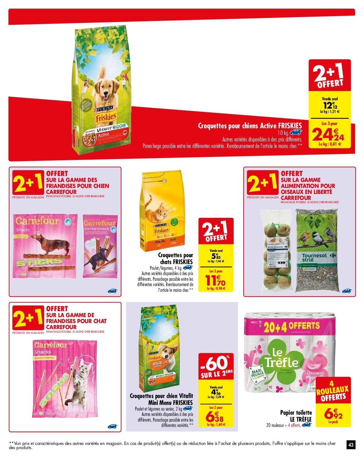 Catalogue Carrefour - 29.01.2019 - 04.02.2019. Page 43.