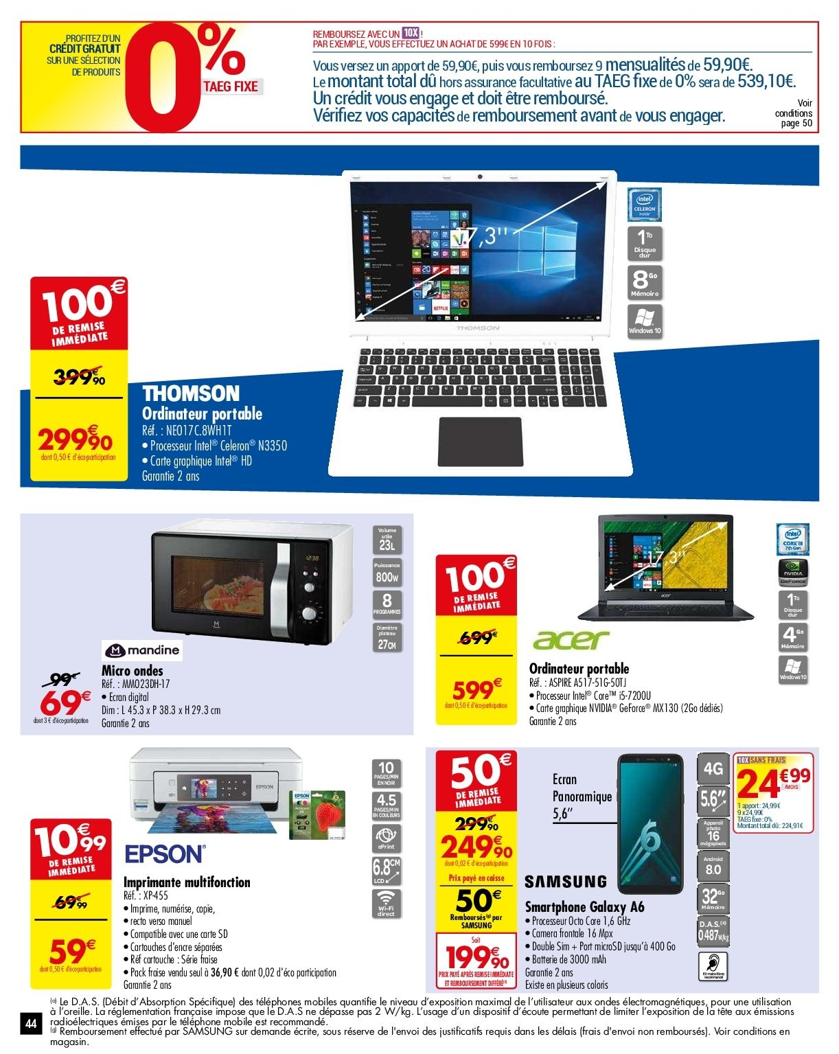 Catalogue Carrefour - 29.01.2019 - 04.02.2019. Page 44.