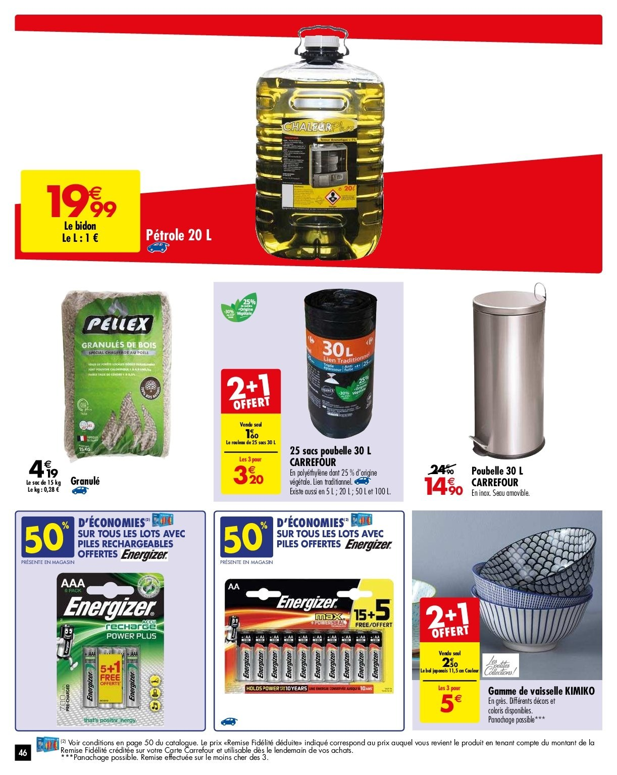 Catalogue Carrefour - 29.01.2019 - 04.02.2019. Page 46.