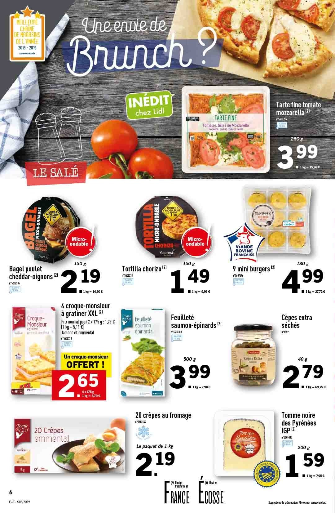 Catalogue Lidl - 06.02.2019 - 12.02.2019. Page 6.