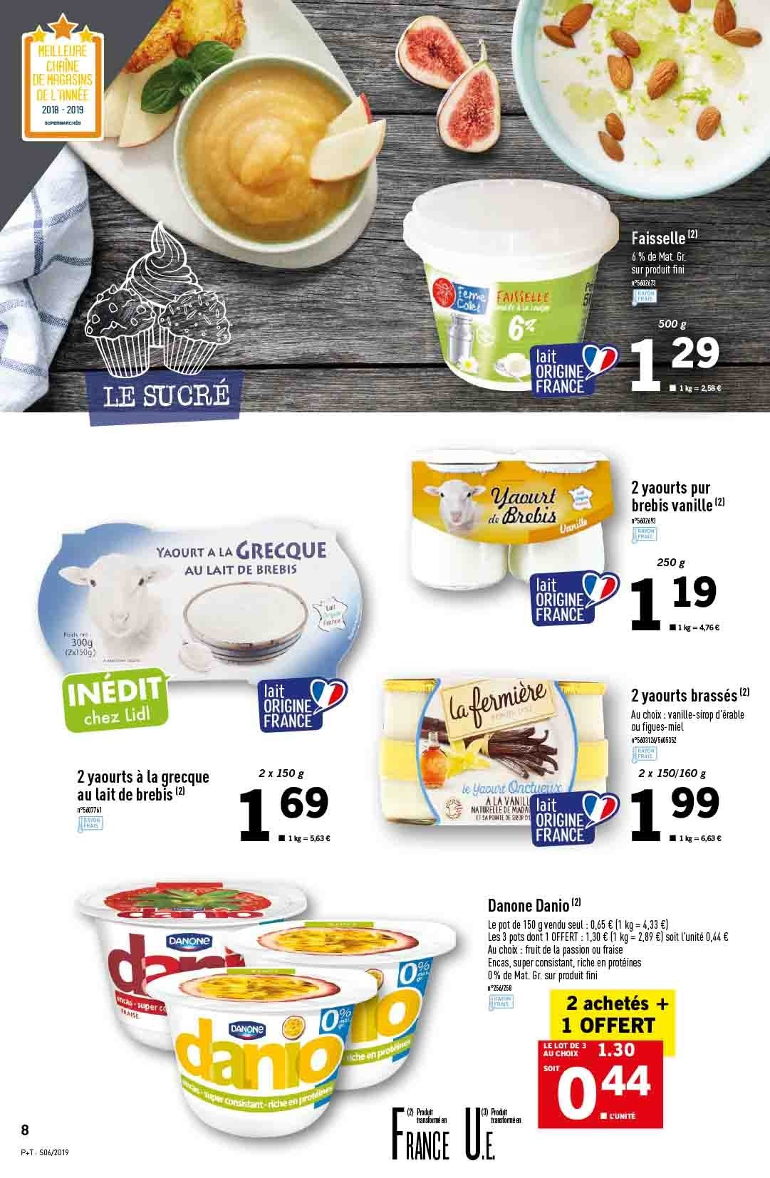 Catalogue Lidl - 06.02.2019 - 12.02.2019. Page 8.