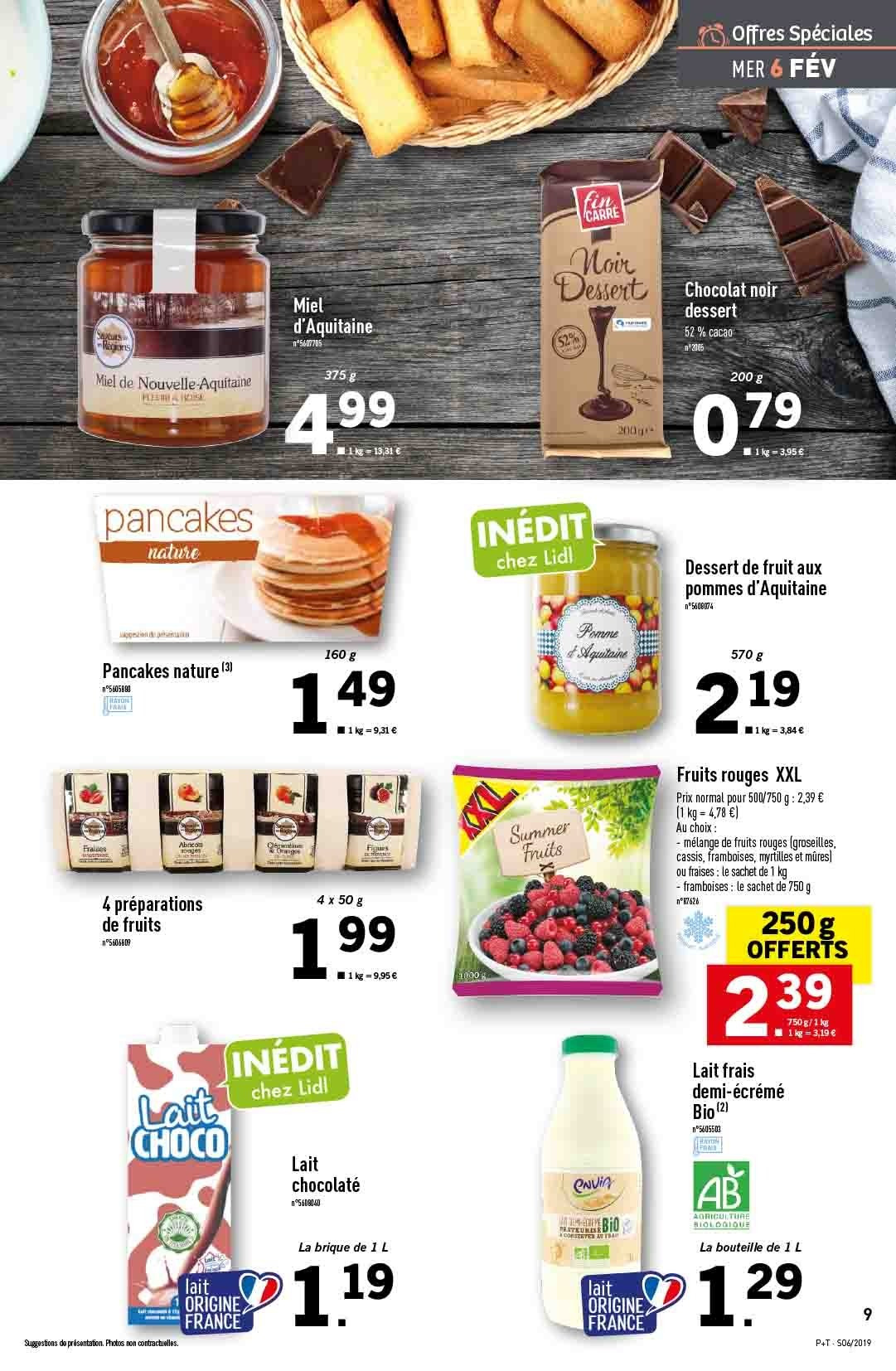 Catalogue Lidl - 06.02.2019 - 12.02.2019. Page 9.