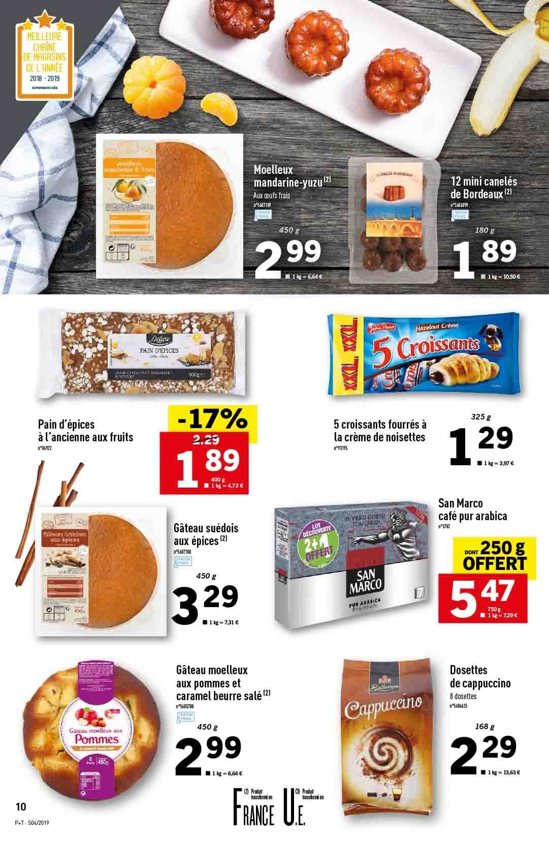 Catalogue Lidl - 06.02.2019 - 12.02.2019. Page 10.