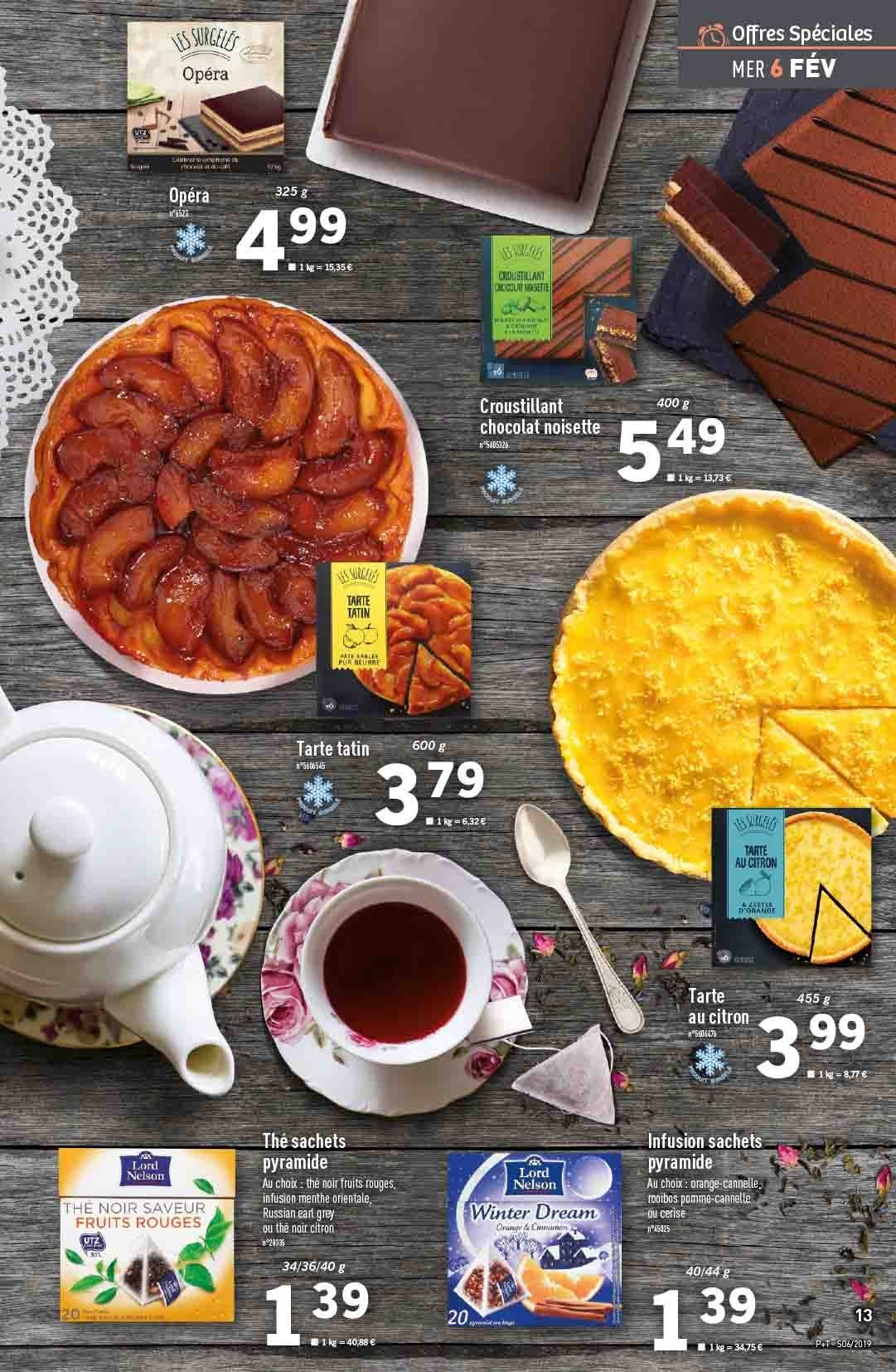 Catalogue Lidl - 06.02.2019 - 12.02.2019. Page 13.