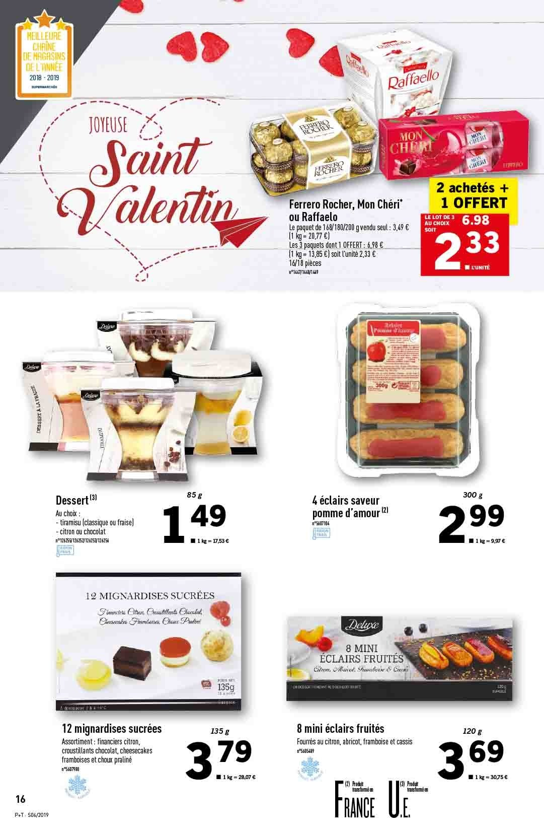 Catalogue Lidl - 06.02.2019 - 12.02.2019. Page 16.