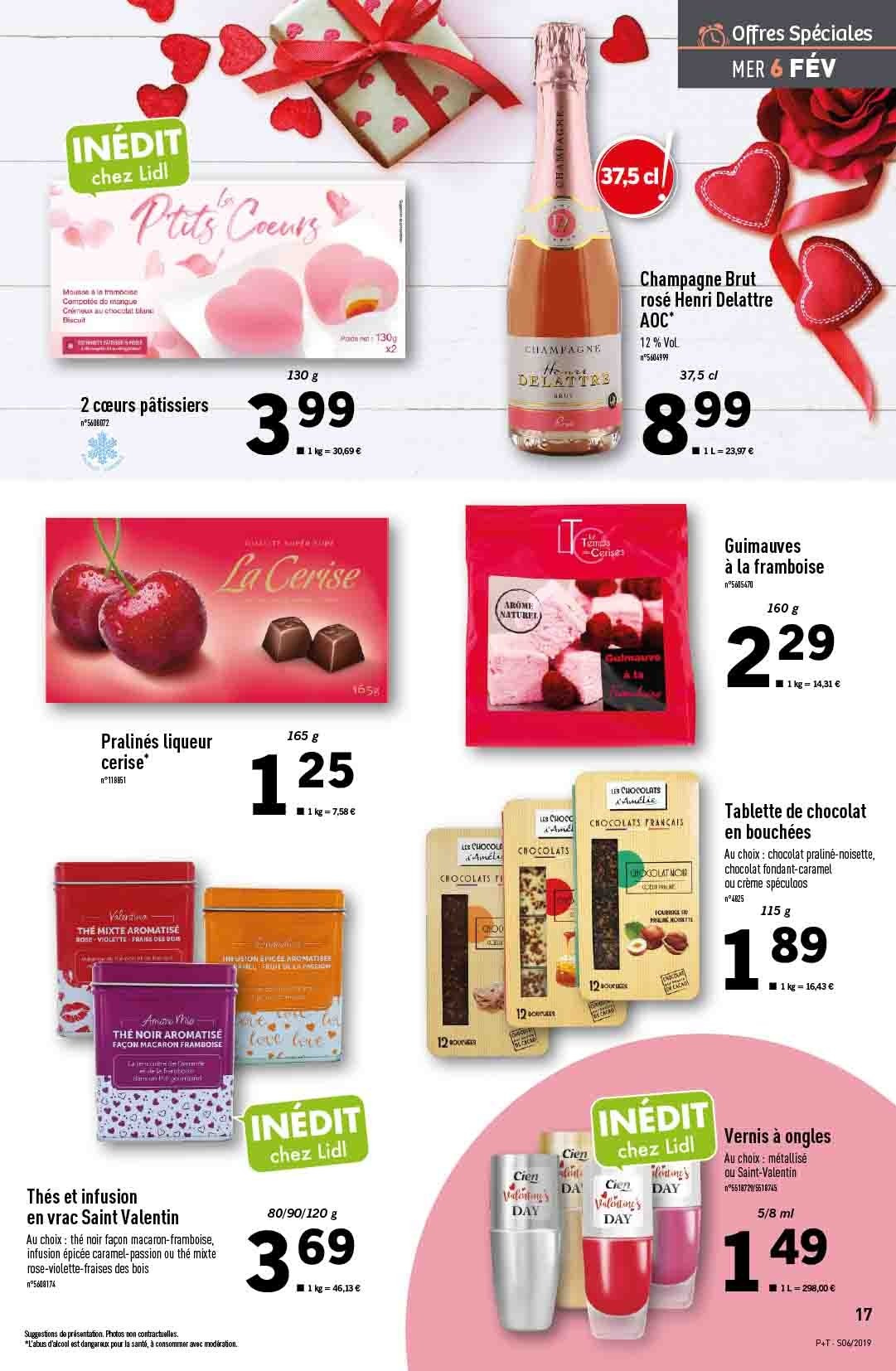 Catalogue Lidl - 06.02.2019 - 12.02.2019. Page 17.