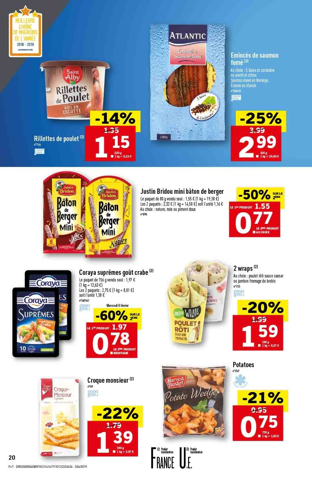 Catalogue Lidl - 06.02.2019 - 12.02.2019. Page 22.